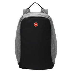 Mochila Anti Furto para Notebook  YS28056  Impermeável Com USB Antifurto - Cinza