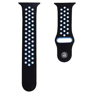 Pulseira Pro Fit Running - Preto/Azul