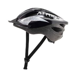 Capacete para Ciclismo Atrio MTB 2.0 Viseira Removível Preto/Branco Tamanho M
