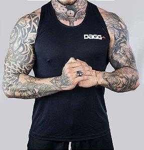 Regata Masculina Workout Black Dagg