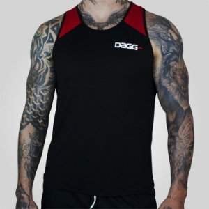 Regata Masculina Workout Red Dagg