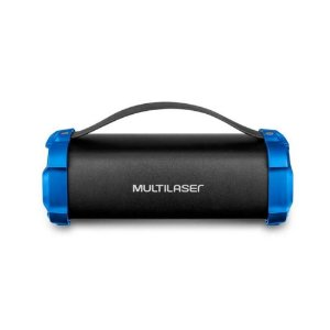 Caixa De Som Multilaser Bazooka BT/AUX/SD/USB/FM 50W Bivolt