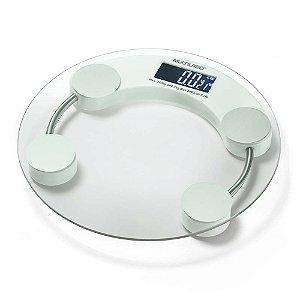 Balança Digital Ultra Resistente Eatsmart 180KG Acionamento Por Toque