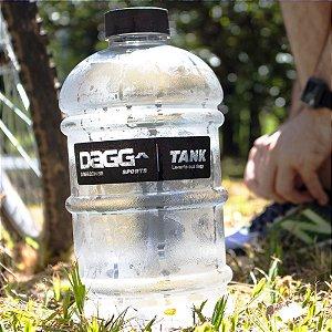 Garrafa Galão de Água Dagg Crystal Tank 2 Litros Squeeze Academia Treino