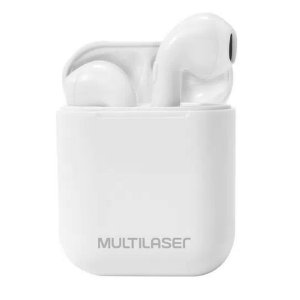 Airbuds Fone Bluetooth 5.0 Branco Multilaser