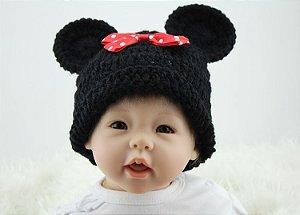 Bebê Reborn de Minnie - Super Promoção Para o Dia das Crianças Por Tempo Limitado!!