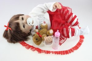 Bebê Reborn Manu - Super Promoção Para o Dia das Crianças Por Tempo Limitado!!