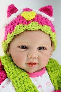 Bebê Reborn Corujinha - Super Promoção Para o Dia das Crianças Por Tempo Limitado!!
