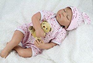 Bebê Reborn Menina Luisa - Super Promoção Para o Dia das Crianças Por Tempo Limitado!!