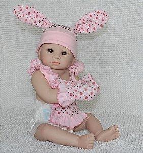 Bebê Reborn Fofinha Toda em Silicone  - Super Promoção Para o Dia das Crianças Por Tempo Limitado!!