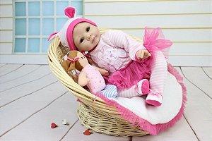 Bebê Reborn Coelhinha - Super Promoção Para o Dia das Crianças Por Tempo Limitado!!