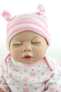 Bebê Reborn Dorminhoca Toda em silicone - Super Promoção Para o Dia das Crianças Por Tempo Limitado!!
