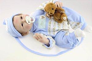 Bebê Reborn Fernandinho com Acessórios - Super Promoção Para o Dia das Crianças Por Tempo Limitado!!