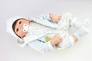 Bebê Reborn Vitinho - Todo em silicone - Super Promoção Para o Dia das Crianças Por Tempo Limitado!!