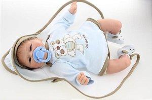 Bebê Reborn Bernardinho - Super Promoção Para o Dia das Crianças Por Tempo Limitado!!
