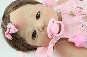 Bebê Reborn Susu - Toda em silicone - Super Promoção Para o Dia das Crianças Por Tempo Limitado!!