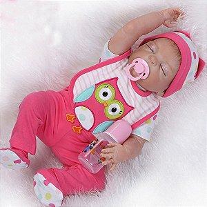 Bebê Reborn Paulinha - Toda Em Silicone - Super Promoção Para o Dia das Crianças Por Tempo Limitado!!