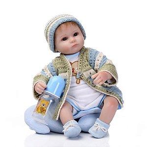 Bebê Reborn Pedrinho - Super Promoção Para o Dia das Crianças Por Tempo Limitado!!