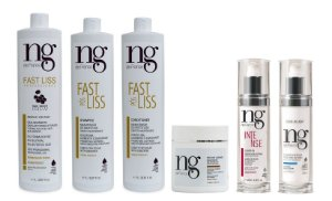 Ng De France Kit Fast Liss + Linha Pós Fast Liss + 1 Leave-in Intense + 1 Leave-in Light