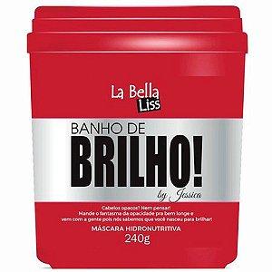 Máscara Hidronutritiva Banho de Brilho La Bella Liss 240gr