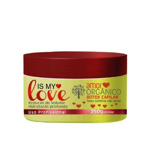 Amor Orgânico Is My Love Creme Alisante 250g