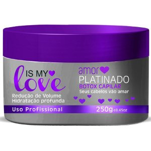 Amor Platinado Is My Love Creme Alisante 250g
