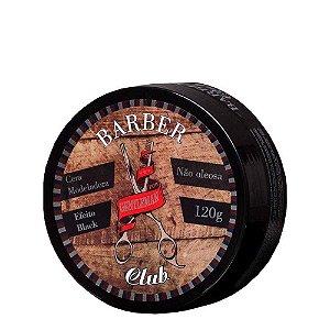Cera Modeladora Efeito Black Barber Club Lattans 120g