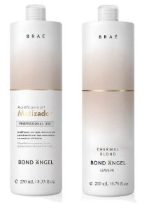 Kit Matizador Acidificante 250ml + Leave-in Bond Angel Braé 200ml