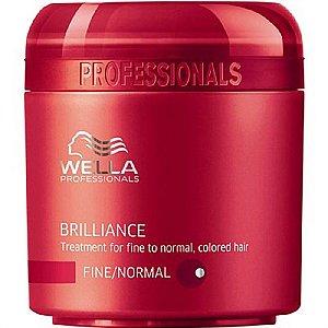 Brilliance Máscara Cabelos Normais a Finos Wella Professional 150ml