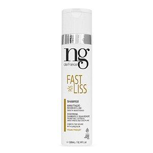 Shampoo Pós Fast Liss NG de France 300ml