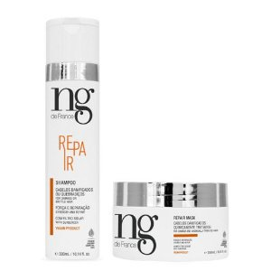 Ng De France Kit Shampoo Repair 300ml + Máscara Repair 250ml