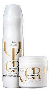 Kit Wella Oil Reflections Shampoo 250ml + Máscara 150ml