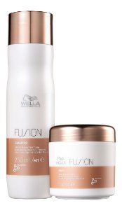 Wella Professionals Kit Fusion Shampoo 250ml + Máscara 150ml