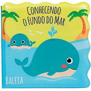 LIVRINHO DE BANHO -  CONHECENDO FUNDO DO MAR