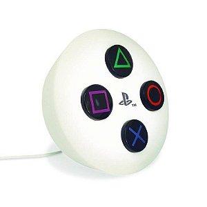 Botão Luminária PlayStation Natural
