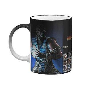 Caneca Mágica Gamer - Mortal Kombat Play Select