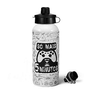Garrafa gamer MQ - Só 5 minutos