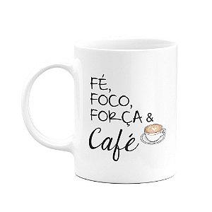 Caneca - Fé e Café
