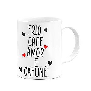 Caneca Divertida - Café e cafuné