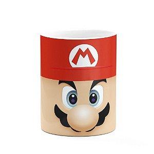 Caneca Gamer Mario Broz Face