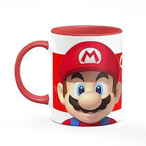 Caneca Gamer Mario bros - B-red