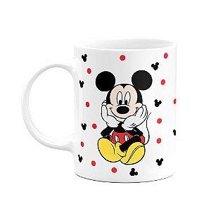 Caneca Mickey Frente e Verso - Branca