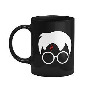 Caneca Harry Potter - Preta