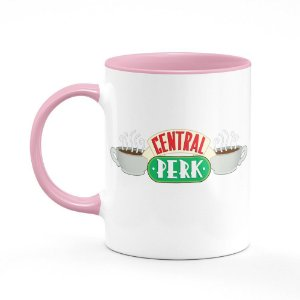 Caneca B-pink Friends Central Perk