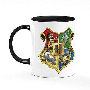 Caneca Casas Harry Potter - B-black