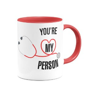 Caneca B-red Greys Anatomy - You're My Person
