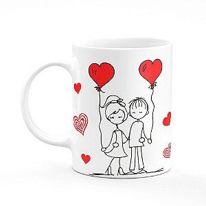 Caneca Namorados Casal Love