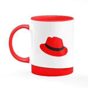 Caneca B-red Linux Red Hat