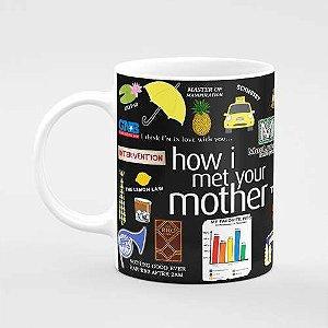 Caneca How I Met Your Mother Com Nome Personalizado
