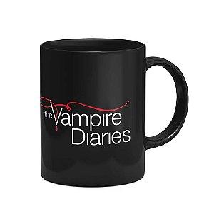 Caneca Série The Vampire Diaries Preta